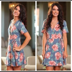 🌸🌺The Flowers Blue Dress 🌸🌺